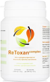Plantocaps ReToxan complex Entgiftungskur Kapseln (60 Stk.)