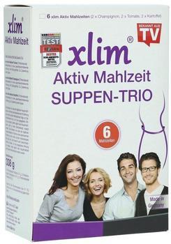 BIOMO-VITAL GMBH XLIM Aktiv Mahlzeit Suppen-Trio Pulver 6 St