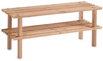 Zeller Schuhregal Bamboo 2 Ablagen (13578)