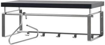Spinder Design Rex 3 Wandgarderobe Nickel-Optik