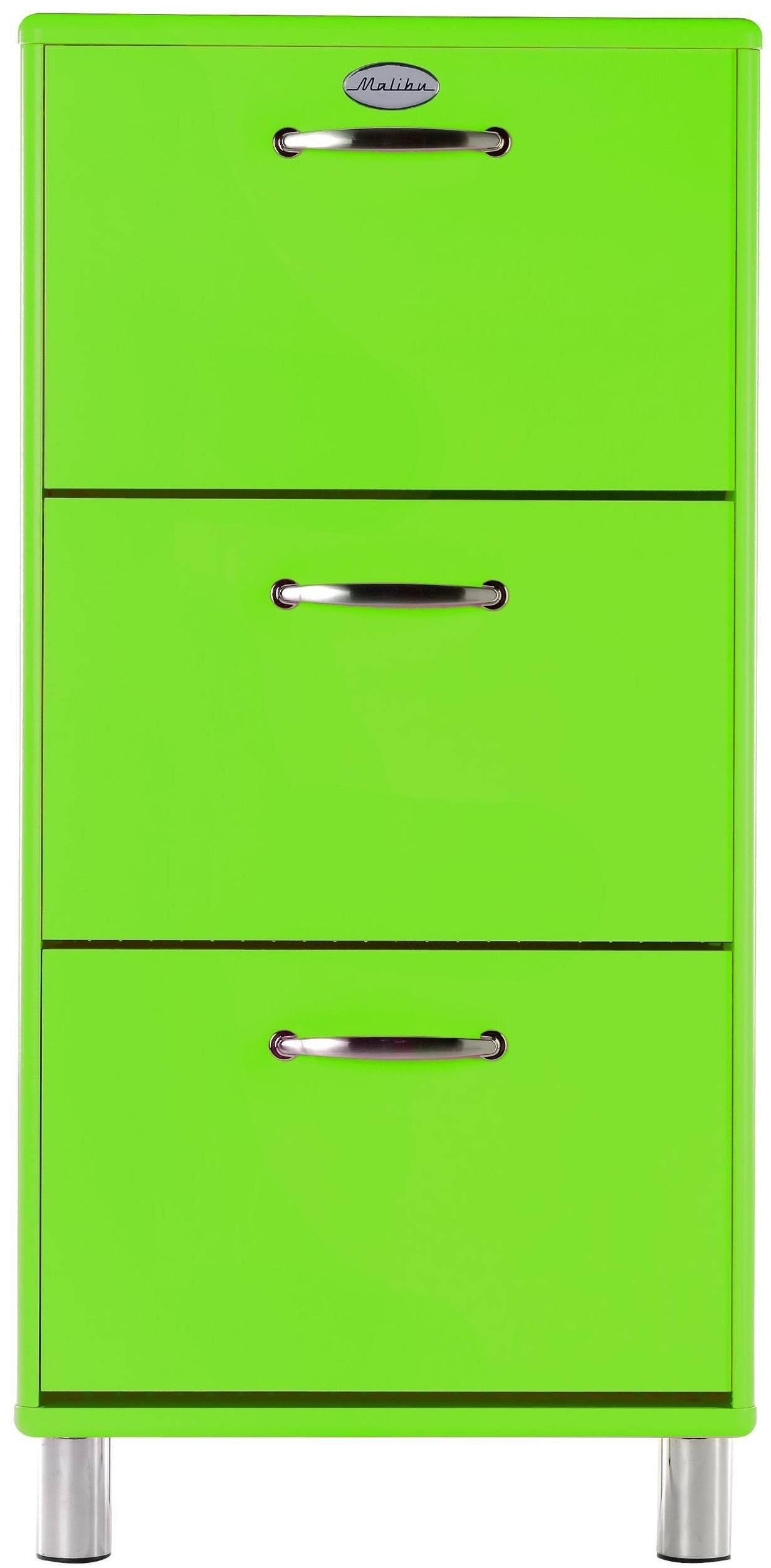 Tenzo Malibu Schuhschrank 58 cm grün (3 Kippfächer) Test Weitere ...