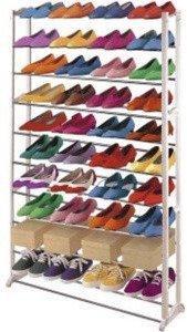 Mendler Schuhregal 40 Paar Schuhe