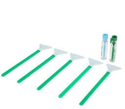 Visible Dust Dual Power Regular Strength 1.0x 24 mm - 5x Sensorreinigungs-Swabs (Green Series) (49997085)
