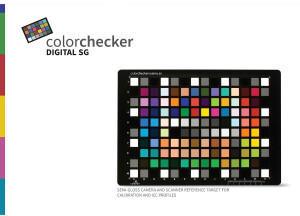 Calibrite Color Checker Digital SG