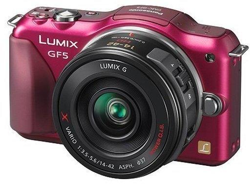 Panasonic Lumix DMC-GF5 mit Zubehör