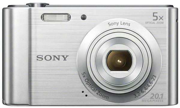 Sony Cyber-shot DSC-W800 (silber)