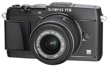 Olympus Pen E-P5 Kit 14-42 mm (schwarz)