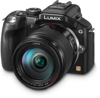 Panasonic Lumix DMC-G5H schwarz + 14-140mm OIS