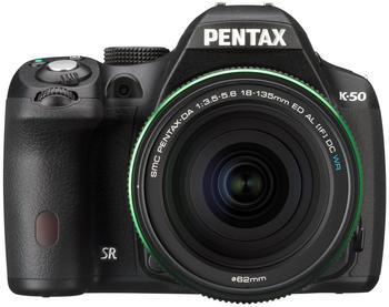Pentax K-50 Kit 18-135 mm (schwarz)
