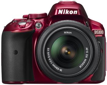 Nikon D5300 Kit 18-55 mm rot