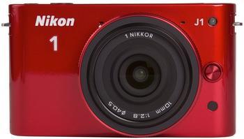 Nikon 1 J1 rot + 10mm