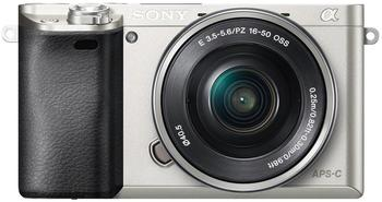 Sony Alpha 6000 Kit 16-50 mm silber