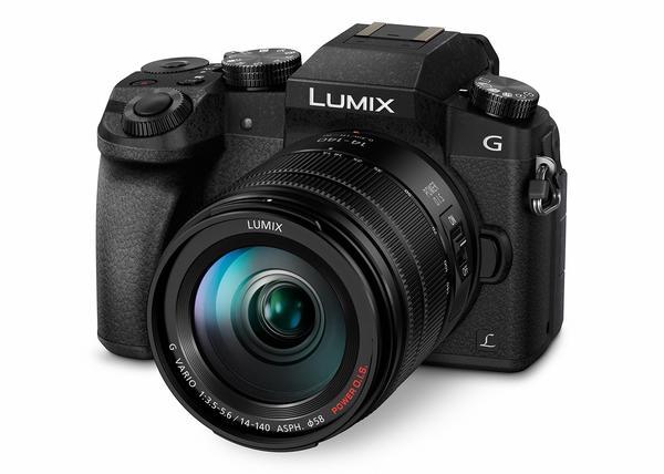 Panasonic Lumix DMC-G70 Kit 14-140 mm schwarz