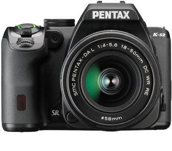 Pentax K-S2 schwarz + DA 18-50mm WR