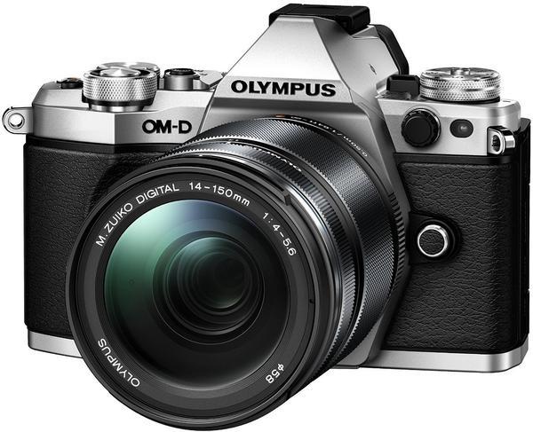 Olympus OM-D E-M5 Mark II silber + 14-150mm II