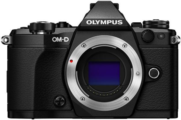 Olympus OM-D E-M5 Mark II Body schwarz