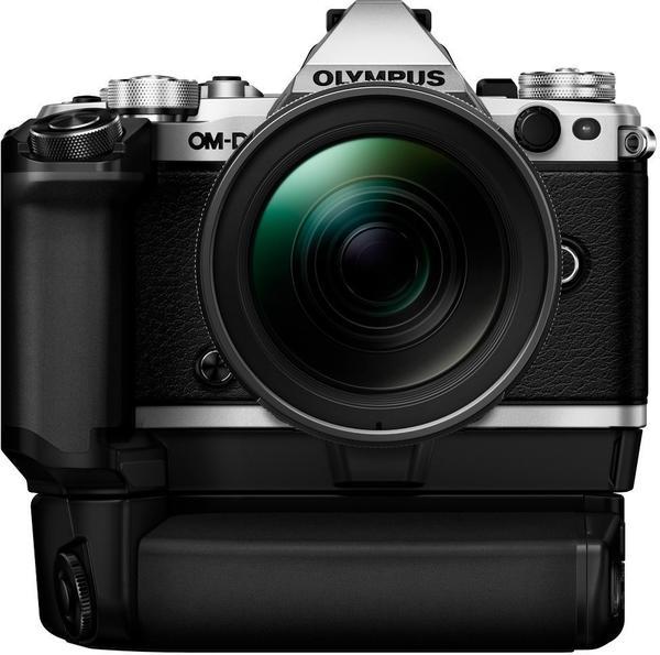Olympus OM-D E-M5 Mark II silber + 12-40mm