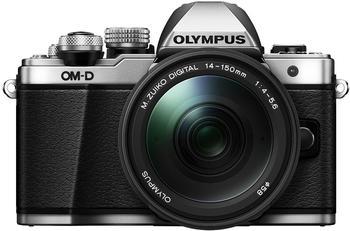 Olympus OM-D E-M10 Mark II silber + 14-150mm II