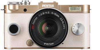 Pentax Q-S1 gold + 5-15mm