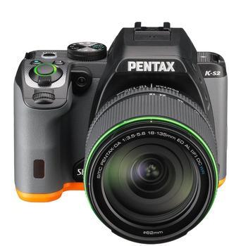 Pentax K-S2 schwarzorange + DA 18-135mm WR