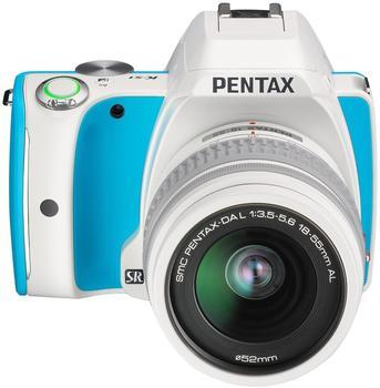 Pentax K-S1 Kit 18-55 mm Cream Soda Blue