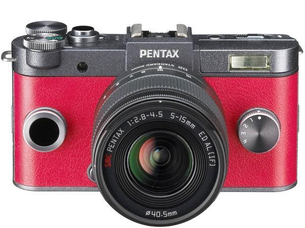 Pentax Q-S1 gunmetal + 5-15mm + 15-45mm