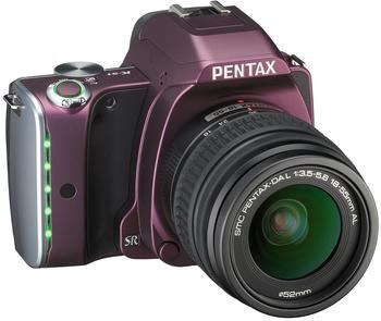 Pentax K-S1 violett + DA L 18-55mm AL
