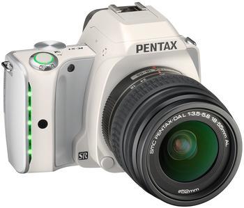 Pentax K-S1 beige + DA L 18-55mm AL