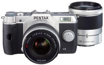 Pentax Q10 schwarz + 5-15mm + 15-45mm