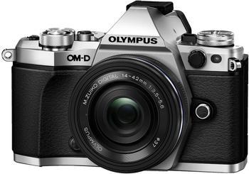 OLYMPUS OM-D E-M5 Mark II silber + 14-42mm EZ