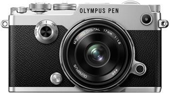 Olympus PEN-F silber + 17mm