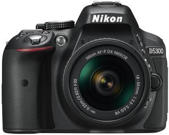 Nikon D5300 Kit 18-55 mm schwarz