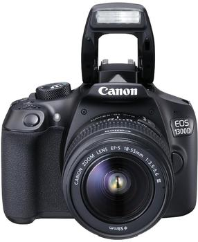 Canon EOS 1300D + 18-55mm DC III + 50mm STM