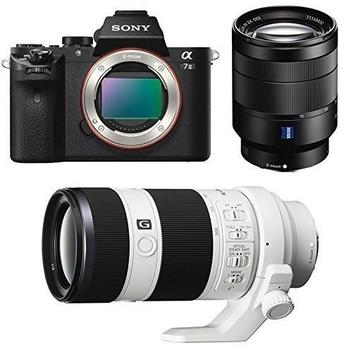 Sony Alpha 7 II Kit 24-70 mm + 70-200 mm