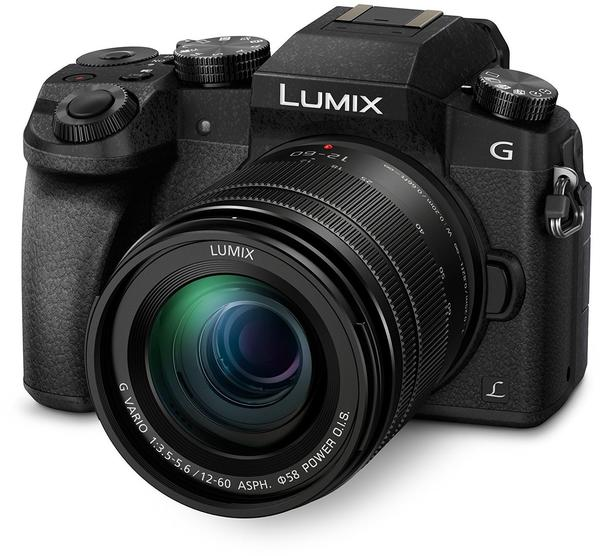 Panasonic Lumix DMC-G70 Kit 12-60 mm schwarz