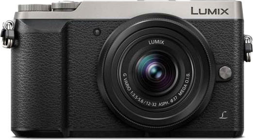 Panasonic Lumix DMC-GX80 Kit 12-32 mm silber