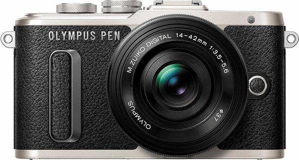 Olympus PEN E-PL8 schwarz + 14-42mm
