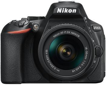 Nikon D5600 schwarz + AF-P DX 18-55mm VR