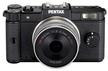 Pentax Q schwarz + 47mm + 28-83mm
