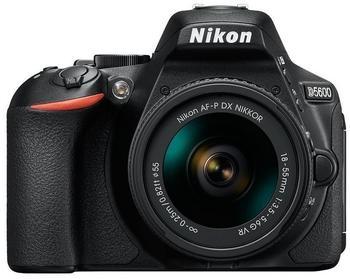 Nikon D5600 schwarz + AF-P DX 18-55mm VR + 70-300mm VR