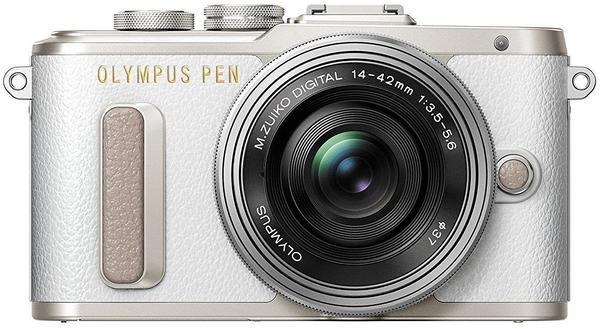 Olympus PEN E-PL8 weiß + 14-42mm