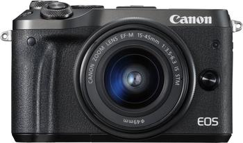 Canon EOS M6 Kit 15-45 mm schwarz