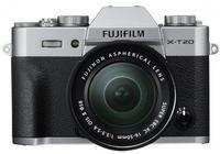 Fujifilm X-T20 Kit 16-50 mm silber
