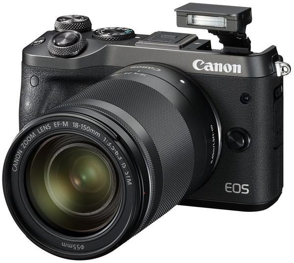 Canon EOS M6 Kit 18-150 mm schwarz
