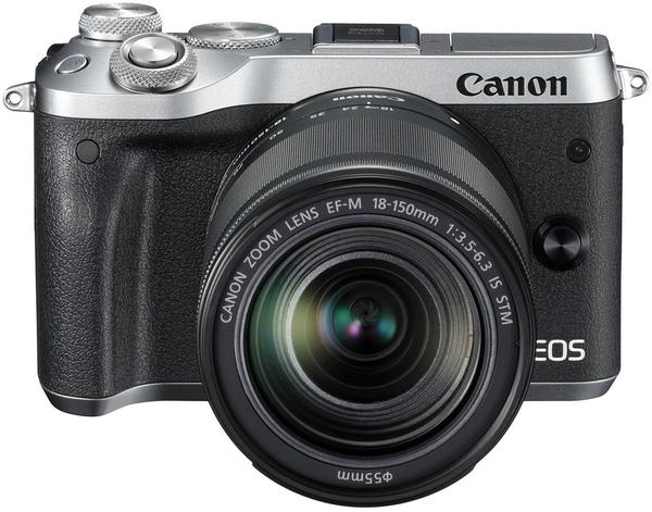 Canon EOS M6 Kit 18-150 mm silber