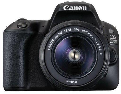 Canon EOS 200D + EF-S 18-55mm DC III