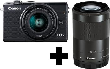 canon-eos-m100-schwarz-15-45mm-is-stm-55-200mm-is-stm