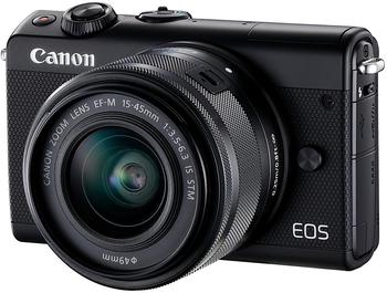 Canon EOS M100 Kit 15-45 mm schwarz