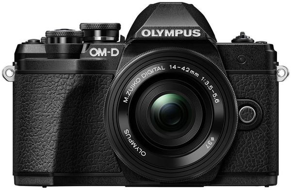 Olympus OM-D E-M10 Mark III Kit 14-42 mm EZ schwarz