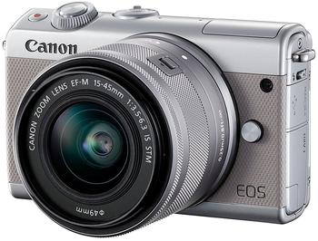 Canon EOS M100 Kit 15-45 mm grau